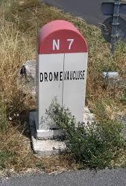"""Résultat de recherche d'images pour """"RN7  borne"""" Provence, France, Road Trip, Images, Cars, Vintage, Collection, Autos, Nice Photos"""