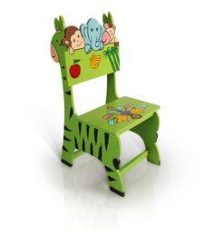 Kids Study Chair In Mango Wood