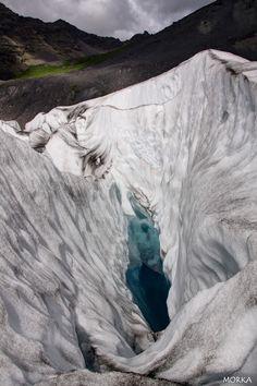 Glacier Fjalljökull, Islande