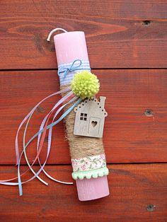 Λαμπάδες candles 2018 Home sweet home Sweet Home, Easter, Candles, Christmas Ornaments, Holiday Decor, Diy, Home Decor, Decoration Home, House Beautiful