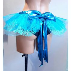 Tulle Micro Tutu With a Large Bow Alice in Wonderland Tutu Cosplay... ($45) ❤ liked on Polyvore featuring black, skirts and women's clothing
