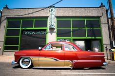 Custom Ride  |  #Trees #custom #classic #hotrod #chrome #retro #vintage #car #Dallas