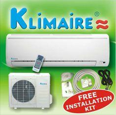 Klimaire 18000 btuh 13 SEER mini split ductless a/c air conditioner & heat pump 220V / 60Hz with free installation kit by Klimaire, http://www.amazon.com/dp/B002C01TVK/ref=cm_sw_r_pi_dp_WLlVqb0NPG6F9