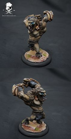 Circle Orboros painting log.