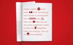 EDP Branding, Advertising & TVC by Jessica Walsh, via Behance