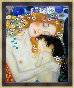 Madre e Hijo (Gustav Klimt)