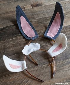 ATELIER CHERRY: Orelhas para páscoa