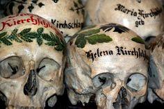 Beinhaus - the Bone House in Hallstatt Austria
