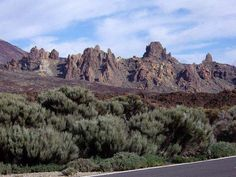 Roques de García, Cañadas del Teide