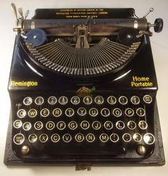 oz.Typewriter: Hello Dolly! A New Home for an Old Home Remington ...