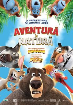 """""""The Big Trip"""" // """"Aventura in natura"""", animatia care cucereste toate generatiile Romantic, Canvas, Big, Movie Posters, Fictional Characters, Shirt, Movies, Character, Tela"""