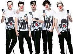 One Direction los Chicos de la Nariz Roja