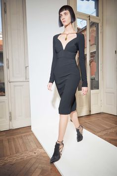 Antonio Berardi | Resort 2017 collection | Black dress