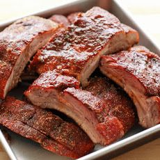 Memphis Style Dry Ribs {On the Grill or In The Oven} recipe by Barefeet In The Kitchen JS use cooking instructions for oven Barbecue Ribs, Ribs On Grill, Pork Ribs, Boneless Ribs, Pork Spare Ribs Oven, Rub Recipes, Grilling Recipes, Pork Recipes, Cooking Recipes