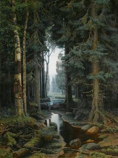 Great Photo/Painting for Reference.- Great Photo/Painting for Reference. Just perfect for the use of the MA-Brushes f… Great Photo/Painting for Reference. Just perfect for the use of the MA-Brushes for Photoshop. Beautiful Forest, Beautiful Places, Beautiful Pictures, Forest Path, Magic Forest, Forest Landscape, Natural World, Beautiful Landscapes, The Great Outdoors