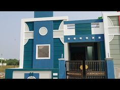House Front Wall Design, House Outer Design, House Arch Design, Single Floor House Design, House Outside Design, House Ceiling Design, Village House Design, Bungalow House Design, Small House Design