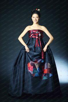 Hanbok Inspired Dress   Korea