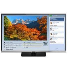 """Smart TV 32"""" LED Panasonic TC-32CS600B com Conversor Digital, Wi-Fi, Entradas HDMI e USB"""