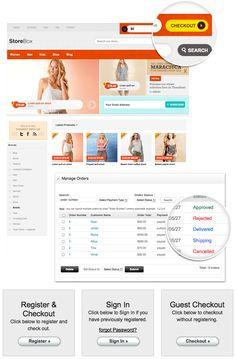 Cool e commerce wordpress theme