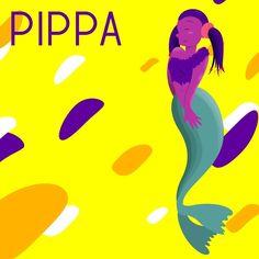 "Grace on Instagram: ""8. Pippa #mermay2019 #mermaid #mermay #wacommermay2019 #sirens #rescuesirens #vectorillustration #digitalart #graphicdesign #pippa…"" Lifeguard, Sirens, Digital Art, Mermaid, Fan Art, Graphic Design, Movie Posters, Instagram, Mermaids"