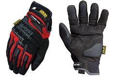 Mechanix Wear-MECMP2 02-008 M-Pact 2 Handschuhe - Rot - Kleine