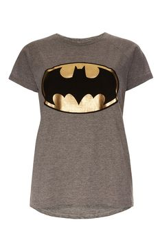 Primark - Grey Batman Foil T-Shirt