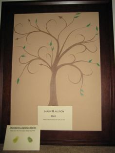 Guest tree Wedding