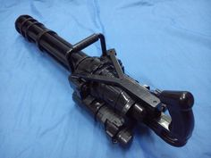 Vulcan M134 Electric Toy Theme Party Propl Cosplay Minigun Gatling Machine Gun | eBay