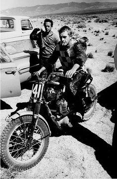 bike &girls- easy life — thatyouride: Steve McQueen Via...