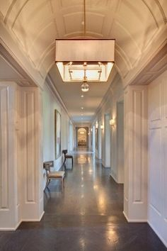 Santa Monica, CA Mansion Hallway