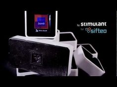 The beautiful Bliss Bomb by Stimulant, on the new Sifteo Cubes.