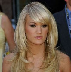 Blonde Hair Colors - YES! to the bangs!