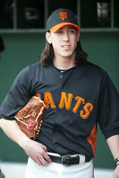 Giants ace Tim Lincecum...aka: Mitch (dazed and confused, yes??)