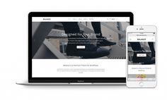 Balance WordPress Minimalist Business Theme