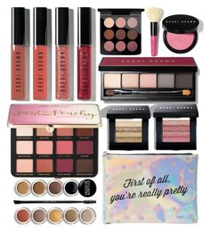 """My makeup bag"" by clairitylim ❤ liked on Polyvore featuring beauty, Charlotte Russe, MAC Cosmetics, Bobbi Brown Cosmetics, Sephora Collection and Giorgio Armani"
