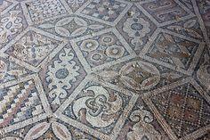 Fragment of mosaic from Tzipori