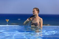Rooms with Private Pool : Junior Suites, Superior Junior Suites , Mediterranean Suites and Executive Suites Best Hotels In Rhodes, Rhodes Hotel, H Hotel, Holiday Boutique, Executive Suites, Soothing Colors, Luxury Holidays, Private Pool, Holiday Photos