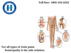 Joint pains is the stage, where everyone face in their life once. Homeopathy is the best solution for Joint pains. Homeocare International is the place, where you will find Arthritis treatment in homeopathy.
