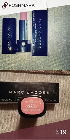 """NEW••MARC JACOBS FULL SIZE LIPSTICK """"GEORGIE GIRL"""" Full size. Brand new in box. Color is """"Georgie Girl"""". Marc Jacobs Makeup Lipstick"""