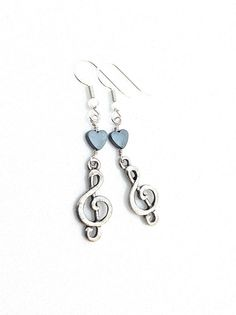 Music Note Earring #trebleclef #music by UrbanClink, $19.50