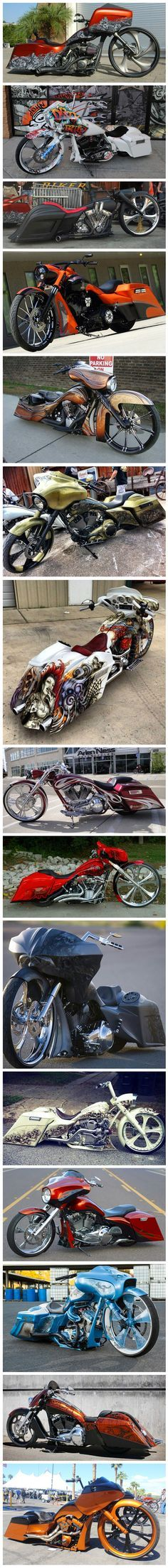 Customized Harley Davidson Motorcycles
