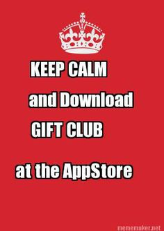 Gift Club can help make gift giving so much less stressful www.facebook.com/GiftClubApp App Store, Google Play, Keep Calm, Told You So, Stress, Android, Presents, Club, Gift Ideas