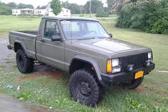 Enter your Zone Offroad lifted vehicle in the Bad to the Bone Zone. Show the off road community information and photos of your truck, SUV or Jeep along with your off roading stories. Comanche Jeep, Jeep Cherokee Xj, Jeep Xj, Jeep Pickup, Jeep Truck, 4x4 Trucks, Ford Trucks, Jeep Wrangler, Cars