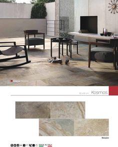 Kosmos  skorpios 30 x 60 cm, Porcelánico Esmaltado estructurado, piso-muro, MADE IN ITALY