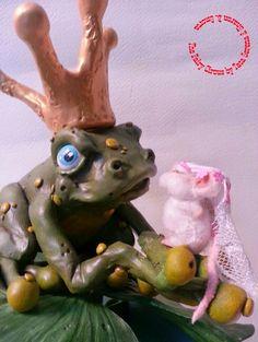 The Fairy Circle - My ooak : IL PRINCIPE RANOCCHIO - secondo progetto a quattro...