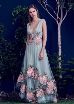 pretty romantic cinderella style ball gown , prom dress or formal wedding wear for summer alice , outshine the bride ! Hamda Al Fahim 2016 Fall Winter