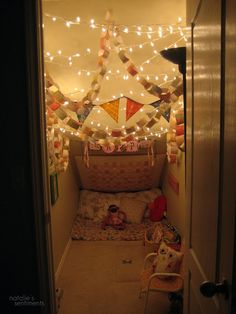 under stairs nook - Google Search