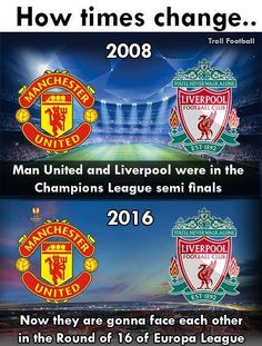 How times change..  Credits - The LAD Football  P.R
