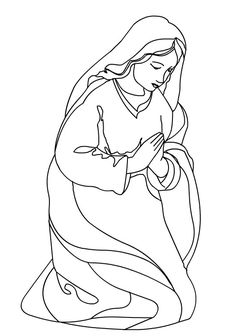 Christmas Nativity Cards Stencils Drawing Catechism Gadget Adult Coloring Pages Books Christian Art