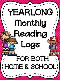 These reading logs are designed for a student to record his/her reading completed at home and school (separate logs for home and school). They can help to provide accountability for assigned reading completed daily, weekly, or whenever you wish. WHAT'S INCLUDED:-A HOME READING LOG FOR EACH MONTH (Students must record the date, book title, time read, and get parent initials.)-2 VERSIONS OF A SCHOOL READING LOG FOR EACH MONTH (Version 1: Students must record the date, book title, starting…